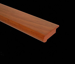 Brazilian Cherry Oval Stair Nose